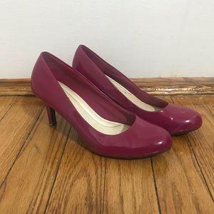 Magenta Colored heels